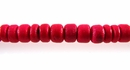 Red Round Coco Beads 4-5mm