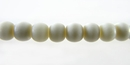 White Bone Round Beads 4mm