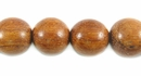 Round  Bayong Wood Beads 10mm