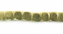 Square Brass Beads 6x6mm