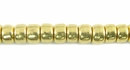 Crow  Brass Beads 4x6mm