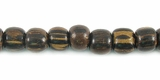 Round  Old Palmwood Beads 4-5mm