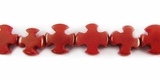 Red Cross Buri Bead 10mm