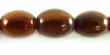 Golden Horn Oval Beads 13x16mm
