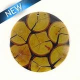 Chicos Wood Slice Inlay-Resin Back 50mmx4mm Thick