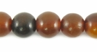 Golden Horn Round Beads 10mm
