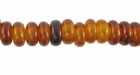 Golden Pukalet Horn Beads 7mm
