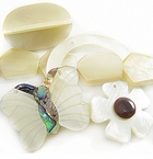Hammershell Beads and Pendants