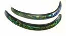 Paua Shell Curve Stick Beads 4-5 in.