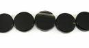 Black Onyx Coins 14-15mm x 4.5-5.5mm