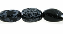 Snowflake Obsidian Nugget Beads 10-20mm