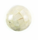 Hammershell Round Blocking Beads 20mm