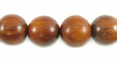 Round Redwood Beads 10mm
