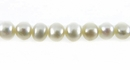 Natural White Potato Pearls 4.5x5mm