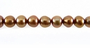 Light Bronze Potato Pearls 5.5x6.5mm