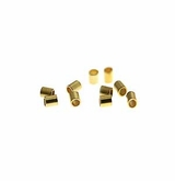Gold Crimp Tube Size #2