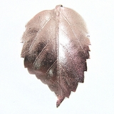 "Tan Electroplated ""Gumamela Leaf"" Pendant"