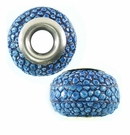 "Dark Blue ""Hambabalud"" Wood Beads16x11x16mm"