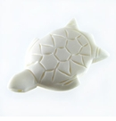White Bone Turtle Pendants