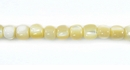 Natural Mother Of Pearl Round Troca Shell Beads 4-5mm
