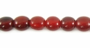 Red Horn Round Beads 6mm