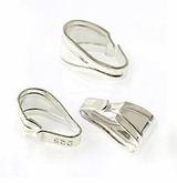 Sterling Silver Snap Bails