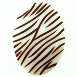 Makabibi Oval With Brown Stripes
