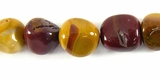 Mookaite Jasper Nugget Beads ~10x11mm