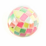 Hammershell Multi Color Round Blocking Beads 20mm