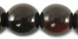 Red Horn Round Beads 20mm