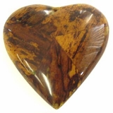 Yellow Heart Banana Bark Inlay Pendant