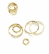 Round Gold Plated Jump Rings 4mm
