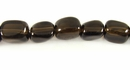 Smoky Quartz Nugget Beads 8x10mm