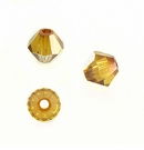Swarovski Beads Bicone Crystal Copper 5301