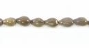 "Gray ""Panyas"" Whole Nut Beads"