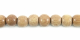 Round Rosewood Beads 6mm