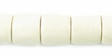 Tube Whitewood Beads 10mmx10mm