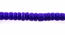 Violet Round Coco Beads 4-5mm