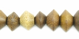 Robles Saucer Wood Beads 7x10mm