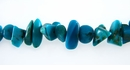Turquoise Blue Chips 7mm
