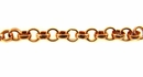 Copper Round Rolo Chain