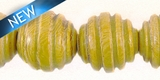 Nangka Carved Spiral 15mm Round w/ 3mm Hole