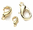 Gold Plated Lobster Clasps