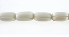 White Bone Carved Oval 12x7mm