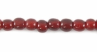 Red Horn Round Beads 4mm