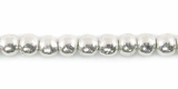 Round Finish Silver Beads 4mm