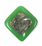 Coco Capiz Inlay Green Diamond