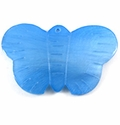 Dyed Blue Hammershell Butterfly