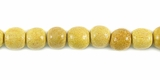 Round Nangka  Wood Beads 4-5mm