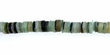 Green Dyed Hammershell Heishi Beads 4-5mm